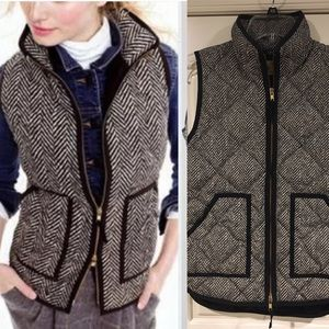 JCrew Factory Diamond Quilted Puffer Down Vest